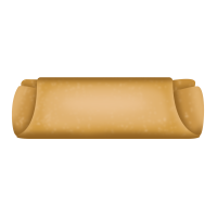 Filled with pork, chicken or textured vegetable protein, and vegetable filled egg roll with a light tan to golden brown wrapper.